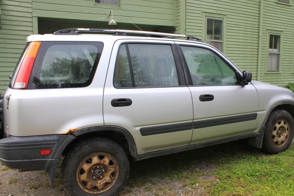 My little CRV.  250,000 miles.  I retired it last summer.