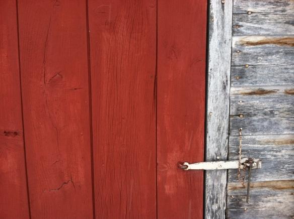 My barn door.